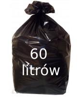 Worki na śmieci 60L czarne...