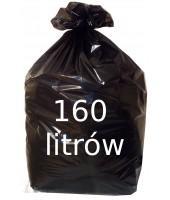 Worki na śmieci 160L czarne...