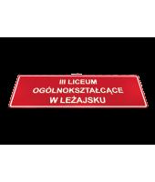 Państowa PŁASKA  - Tablica...