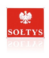 SOŁTYS Godło - Tablica...