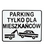 Parking dla mieszkańców -...