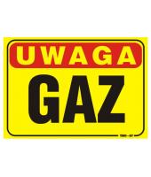 BHP Tablica informacyjna | GAZ