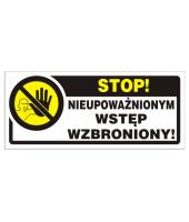 Naklejka I Stop!...