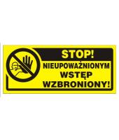 Tablica 23x10| Stop!...