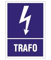 2x Naklejka 5x7 cm | TRAFO