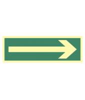 Kierunek drogi ewakuacyjnej...