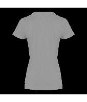 T-shirt koszulka damska szara