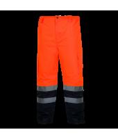 Zimowe spodnie ostrzegawcze...